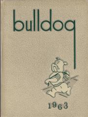 Lindenhurst High School Bulldog 1963 Yearbook cover