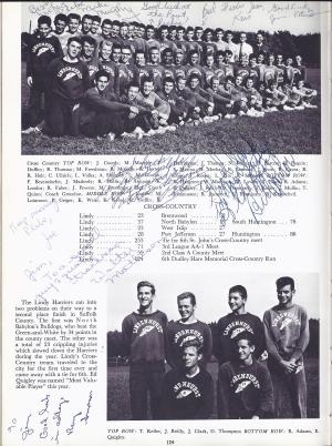 Lindenhurst High School Bulldog 1963 Yearbook Cross Country