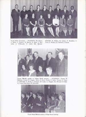 Lindenhurst High School Bulldog 1963 Yearbook Youth Week