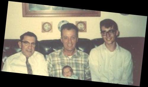 Grandpa Pop & Larry with Larry III