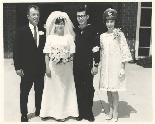 Dad Joyce Larry Mom