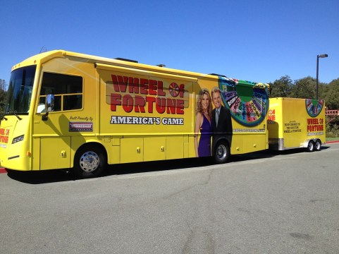Wheel of Fortune Wheelmobile at Jackson Rancheria 1