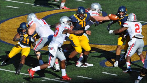 Cal Defending Against Pass
