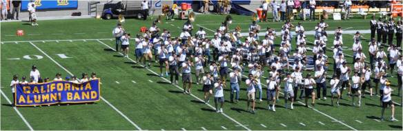 California Alumni Band Pregame Performance