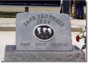 Sage Brothers Memorial, Niobrara, Nebraska