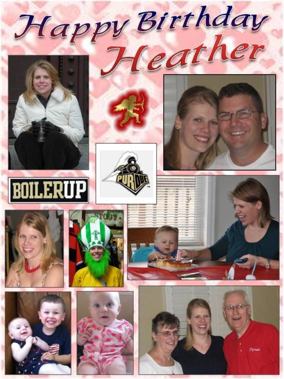 Happy Birthday Heather