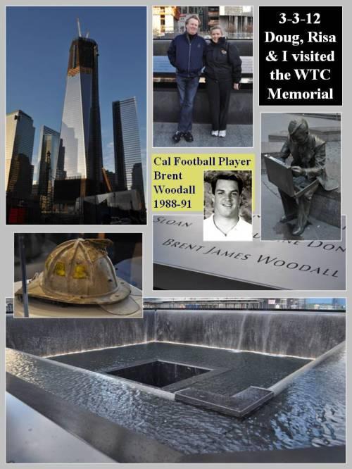 National 9/11 Memorial Visit -- 3-3-12