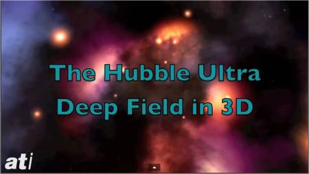 The Hubble Ultra Deep Field in 3D