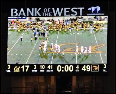 Cal v. Oregon State -- Final Score OSU 49 -- Cal 17