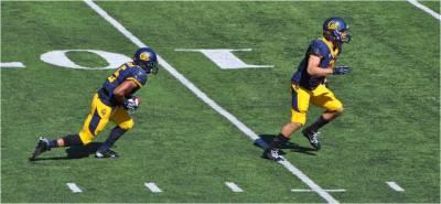 Cal v. WSU -- Brendan Bigelow Returns a Kickoff