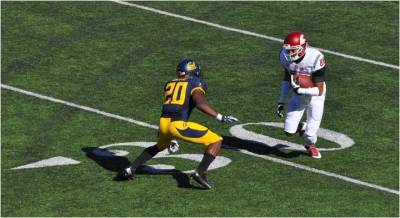 Cal v. WSU -- DB Isaac Lapite on Defense