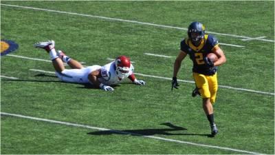 Cal v. WSU -- HB Daniel Lasco Breaks Free