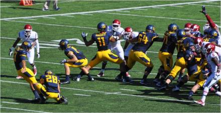 Cal v. WSU -- K Vincenzo D'Amato Hits Another Field Goal