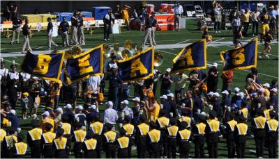 Cal v. WSU -- Leading the Bears Onto the Field