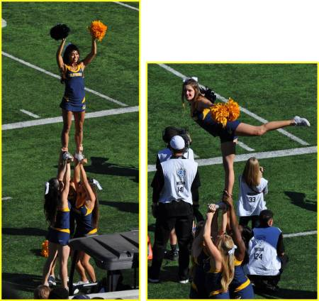 Cal v USC Cheerleaders