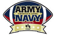 Arm-Navy Game Logo Football