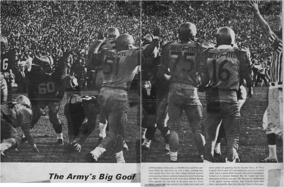 Army-Navy Game 1963 Sports Illustrated Photo