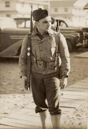 Thomas Havard Sayes -- WWII Soldier