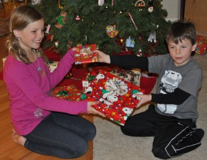 Hannah & Quincy Exchange Gifts