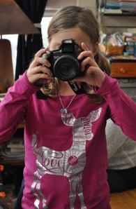 Hannah Taking My Picture