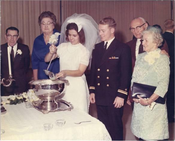 "Lawrence Ambrose (""Grandpa"") Reilly, Jessie Grace Busby (""Granny"") Douglas, Sandy, Jim, Gerald Francis (""Pop"") Thomas, Louise E. Schillinger (""Nana"") Thomas"