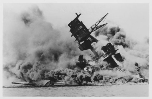 USS Arizona (BB-39) -- December 7, 1941
