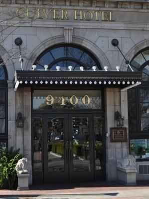 Culver Hotel Entrance