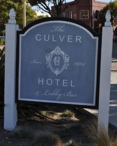 Culver Hotel Sign