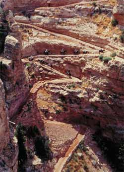 The Bright Angel Trail, Grand Canyon