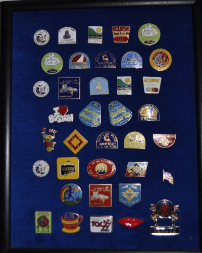 Collection of Race Pins