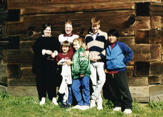 Reilly Family at Fort Ross CA 1986 (Photo by Maureen Sinclair)