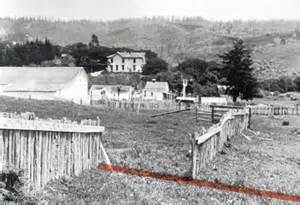 San Francisco Earthquake 1906 Pt. Reyes Fence Displaced