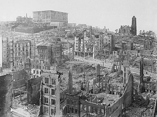 San Francisco Earthquake Ruins