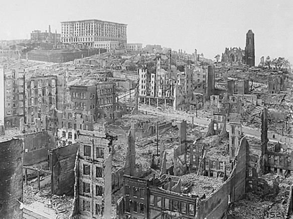 San Francisco Earthquake Ruins