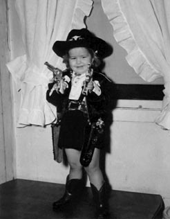 Sandy the Cowgirl 1950 Photo by Joe M. Douglas