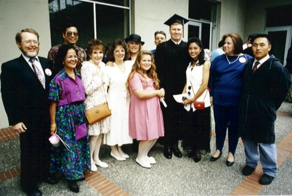 At Doug's Graduation from Cal 1993 (Photographer Unknown)