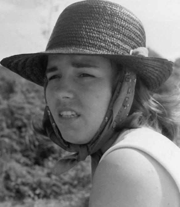Sandy on our honeymoon, St. Thomas, U.S. Virgin Islands, December 1968