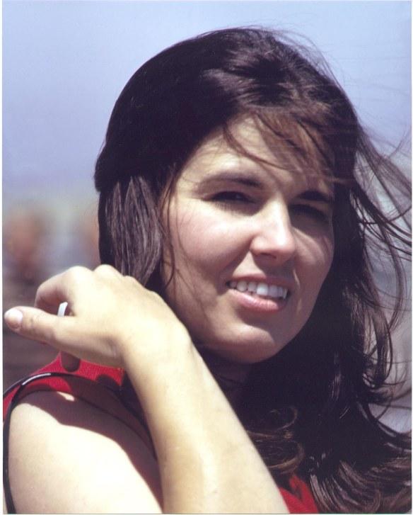 Sandy in Huntington Beach 1972
