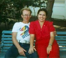 Jim & Sandy 1983 (Photographer Unknown)