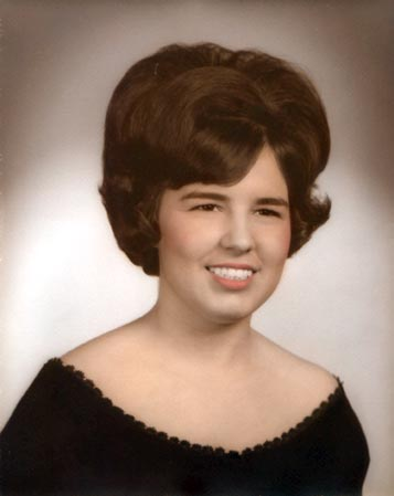 Sandy Senior Portrait Overton High School, Memphis, TN, 1966