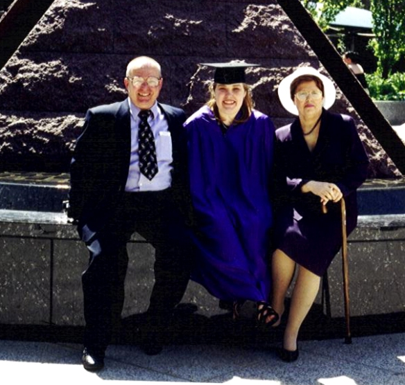 Risa's Graduation New York University 1997 (Photo by Sister Dorothy Reilly)