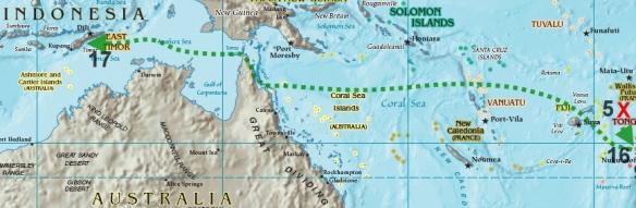 William Bligh's 47 Day Voyage