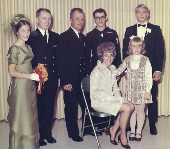 Reilly Family December 7, 1968 ----- Luanne, Jim, Larry Sr., Larry Jr., Jerry, Marion and Suzie