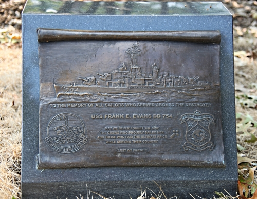 USS Frank E. Evans Memorial, Arlington National Cemetery