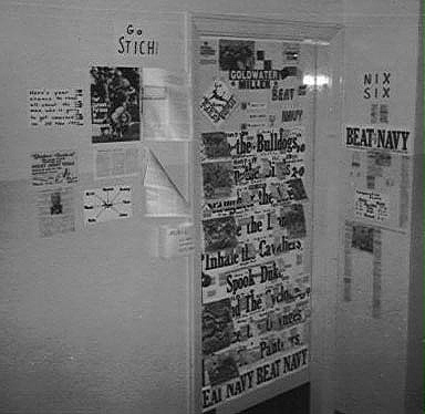 Door to My Room 5243, November 28, 1964