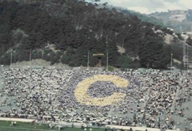 California Golden Bears, Memorial Stadium, Student Section