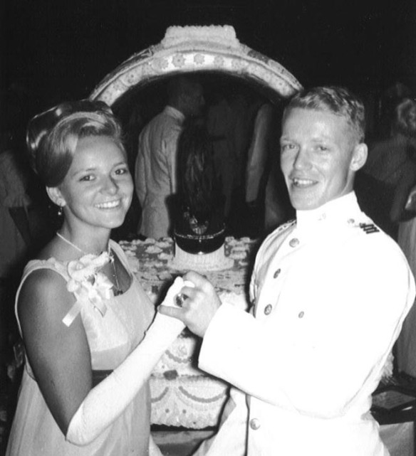 Ring Hop, September 10, 1966, with my date Gail McGahren
