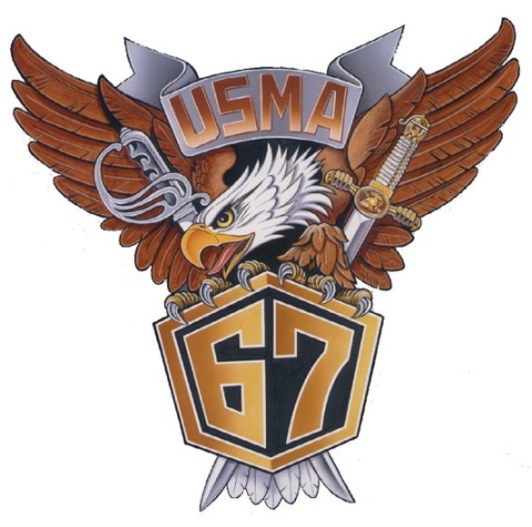 West Point 1967 Crest on white