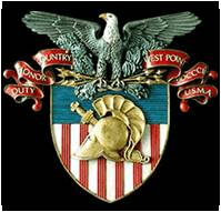 West Point Crest enamel