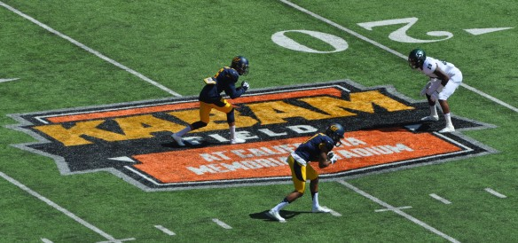 WRs Chris Harper & Bryce Treggs Line Up